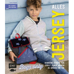 """Buch """"Alles Jersey - Boys only"""" - Gr. 92-128"""
