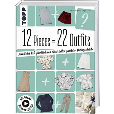 """Buch """"12 Pieces - 22 Outfits"""" - Gr. 34-46"""