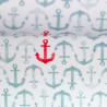 """0,1m Jersey """"Nautical Baby"""" Anker"""