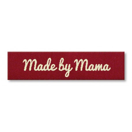 Etikett - Made by Mama