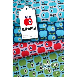 "0,1m Jersey ""Simply Apples"" Varianten"