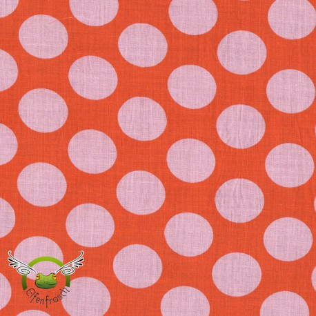 "0,1m Voile ""Nancy"" Dots"