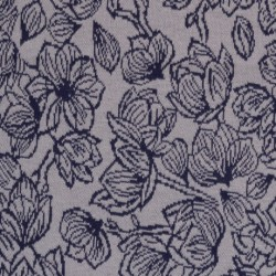 "0,1m Jacquard - Jersey ""Just May"" by Lila-Lotta"