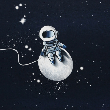 "1 Panel French Terry ""Moonwalker"" by Thorsten Berger"