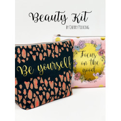"1 Jersey-Panel ""Beauty Kit - Be yourself"" by Cherry Picking"