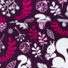 """0,1m Sweat French Terry """"Cozy Forest"""" by lycklig design"""