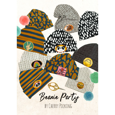 "Panel ""Beanie Party"" by Cherry Picking"