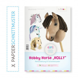 "Booklet Schnittmuster & Anleitung Hobby Horse ""Holly"" by Kullaloo"